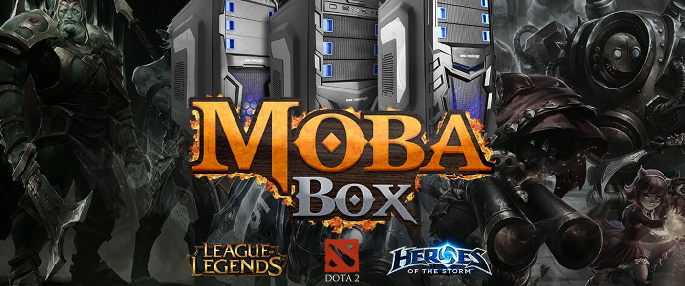 Comparativo Moba Box: Neologic GTX 950 x Neologic GTX 750ti