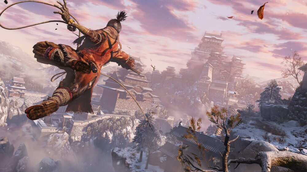 Screenshot do jogo: Sekiro - Shadows Die Twice.