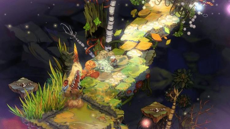 Screenshot do jogo Bastion.