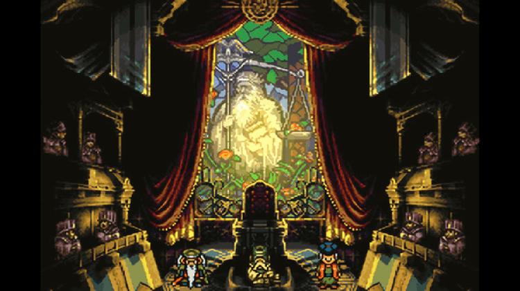 Screenshot do jogo Chrono Trigger.