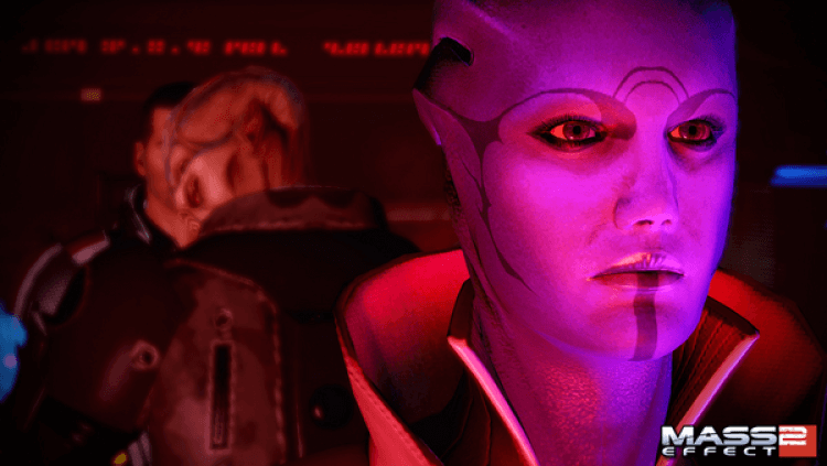 Screenshot do jogo Mass Effect 2.