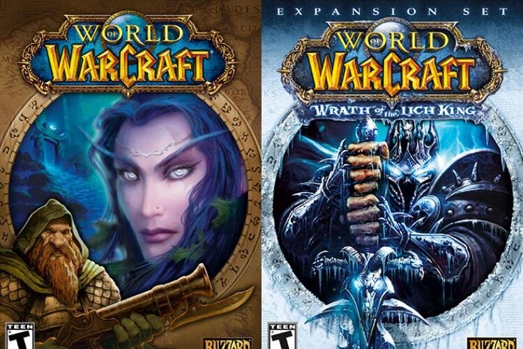 Capas de World of Warcraft.