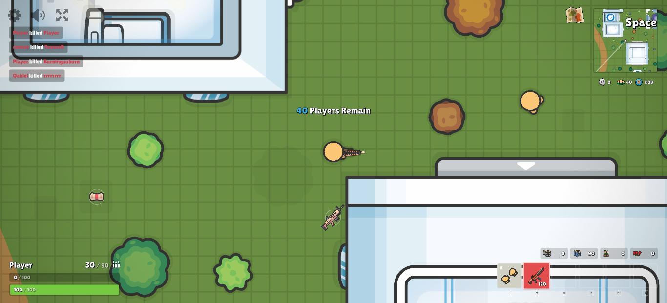 jogos tipo agario - zombie royale