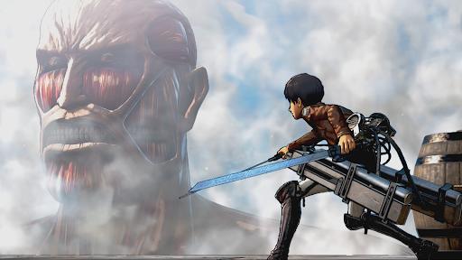 jogos de anime Attack on Titan