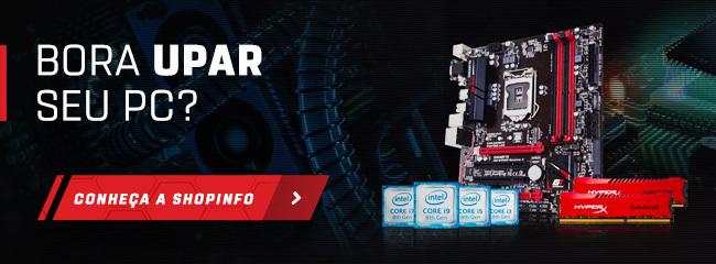 Banner para o site da Shopinfo.