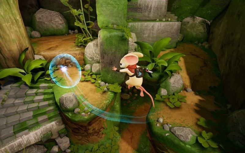 Jogos de Realidade Virtual: Moss.