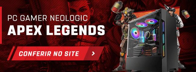 Banner para a página do PC Gamer Neologic Apex Legends.