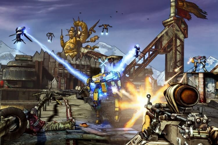 Screenshot do jogo Borderlands 2.
