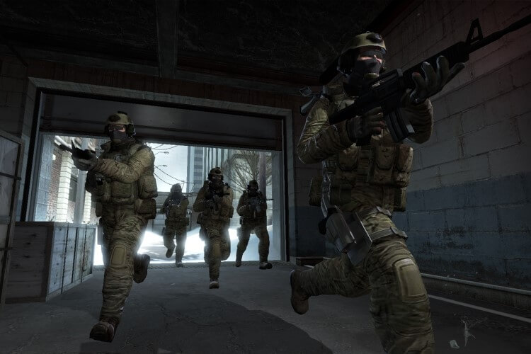 Screenshot do jogo CS: GO.