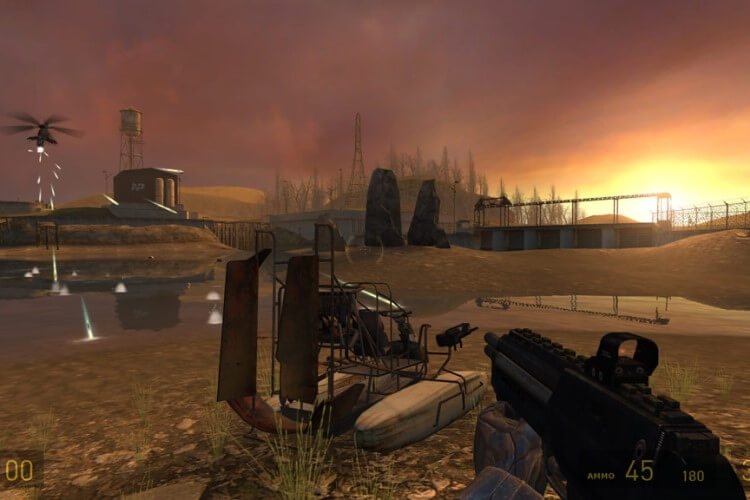Screenshot do jogo Half-Life 2.
