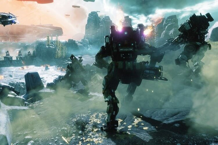 Screenshot do jogo Titanfall 2.