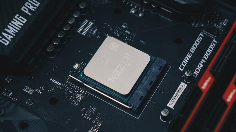 CPU da série Ryzen.