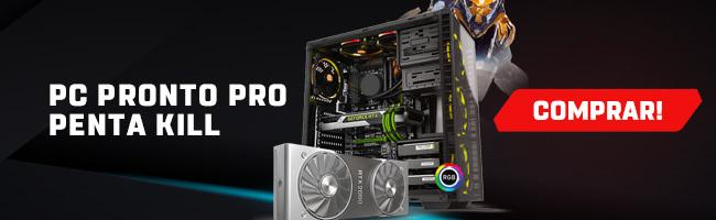 Banner para a página de PCs gamer da Shopinfo.