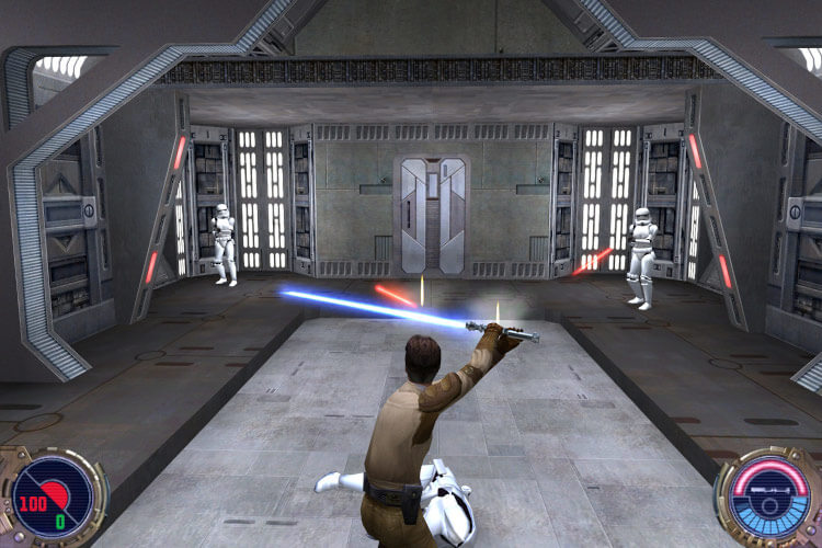 Screenshot do jogo: Jedi Knight II - Jedi Outcast