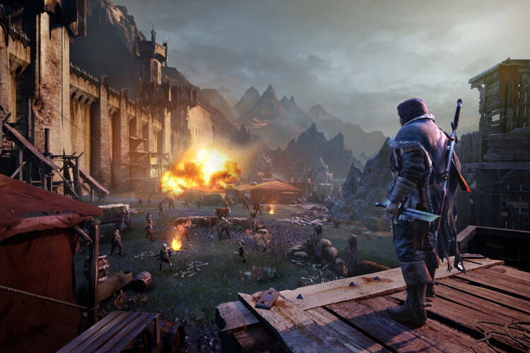 Screenshot do game Middle-Earth: Shadow of Mordor.