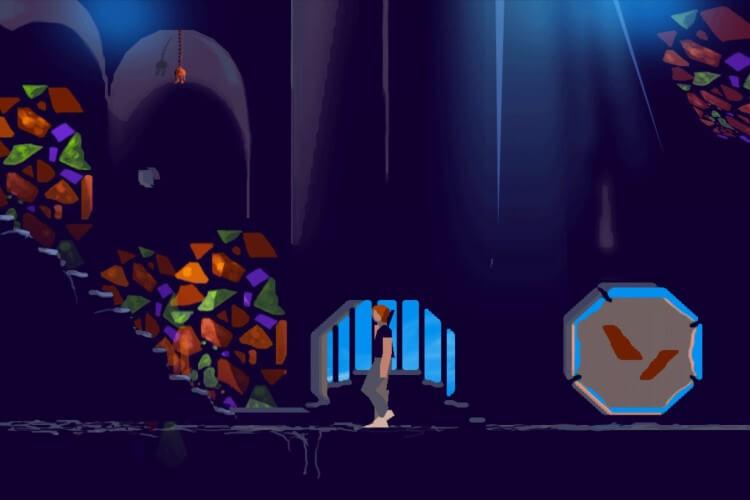 Screenshot do jogo Another World.