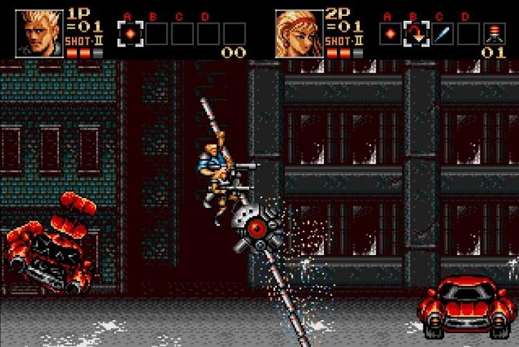 Screenshot do jogo Contra.