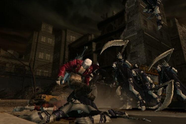 Screenshot do jogo Devil May Cry 3