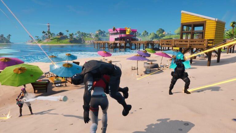 Imagem promocional do jogo Fortnite.
