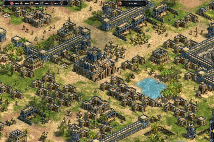 (2) Screenshot do jogo Age of Empires: Definitive Edition.