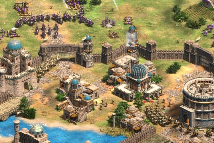 Screenshot do jogo Age of Empires: Definitive Edition.