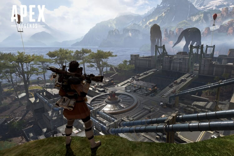 Screenshot do jogo Apex Legends.