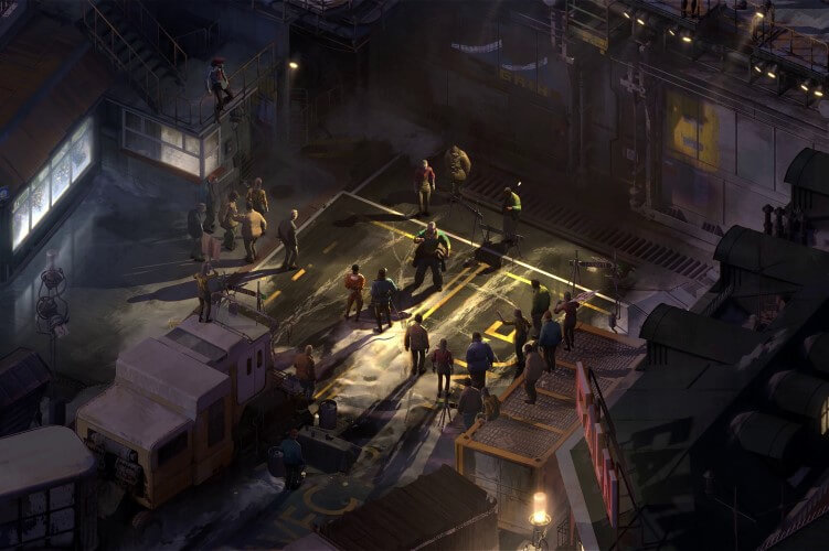 Screenshot do jogo Disco Elysium.