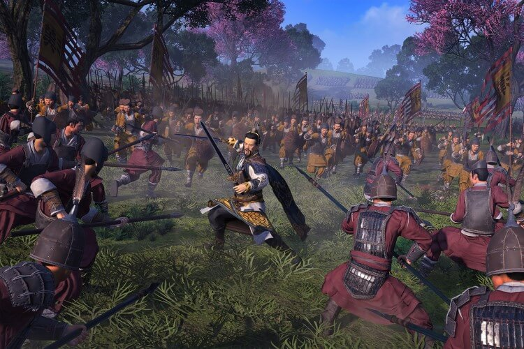 Screenshot do jogo Total War: Three Kingdoms.