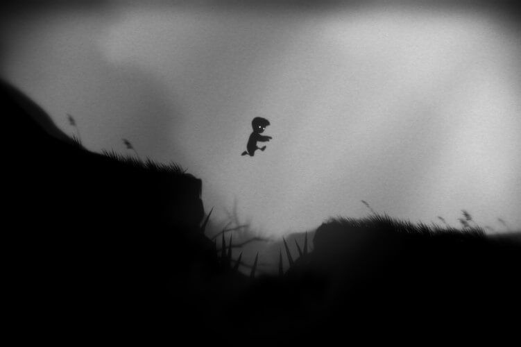 Screenshot do jogo Limbo.
