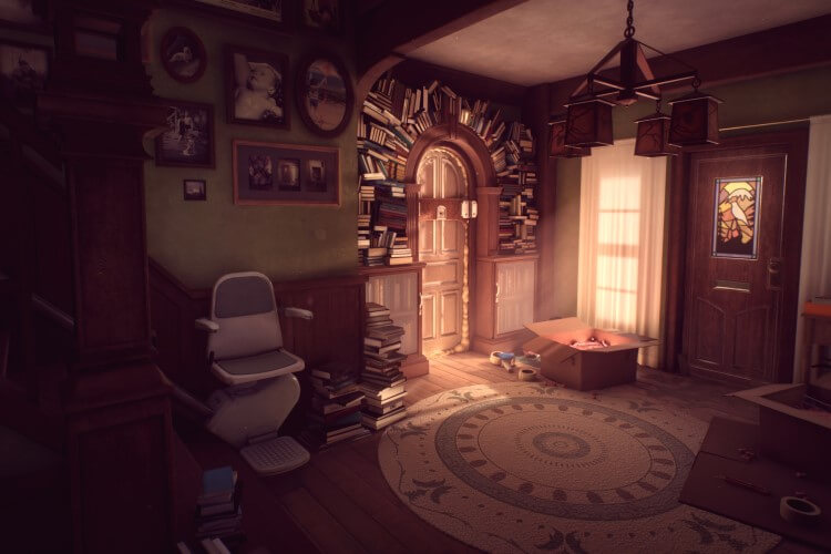 Screenshot do jogo What Remains of Edith Finch.
