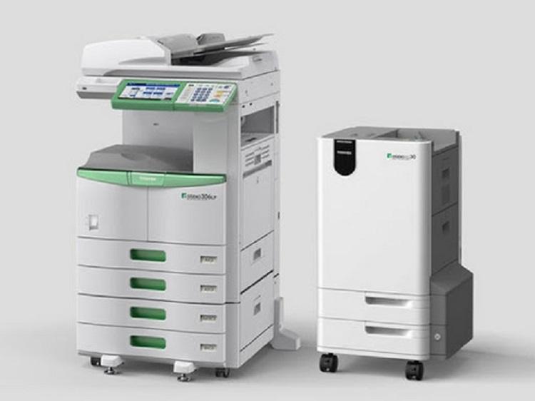 Máquina que produz documentos apagáveis