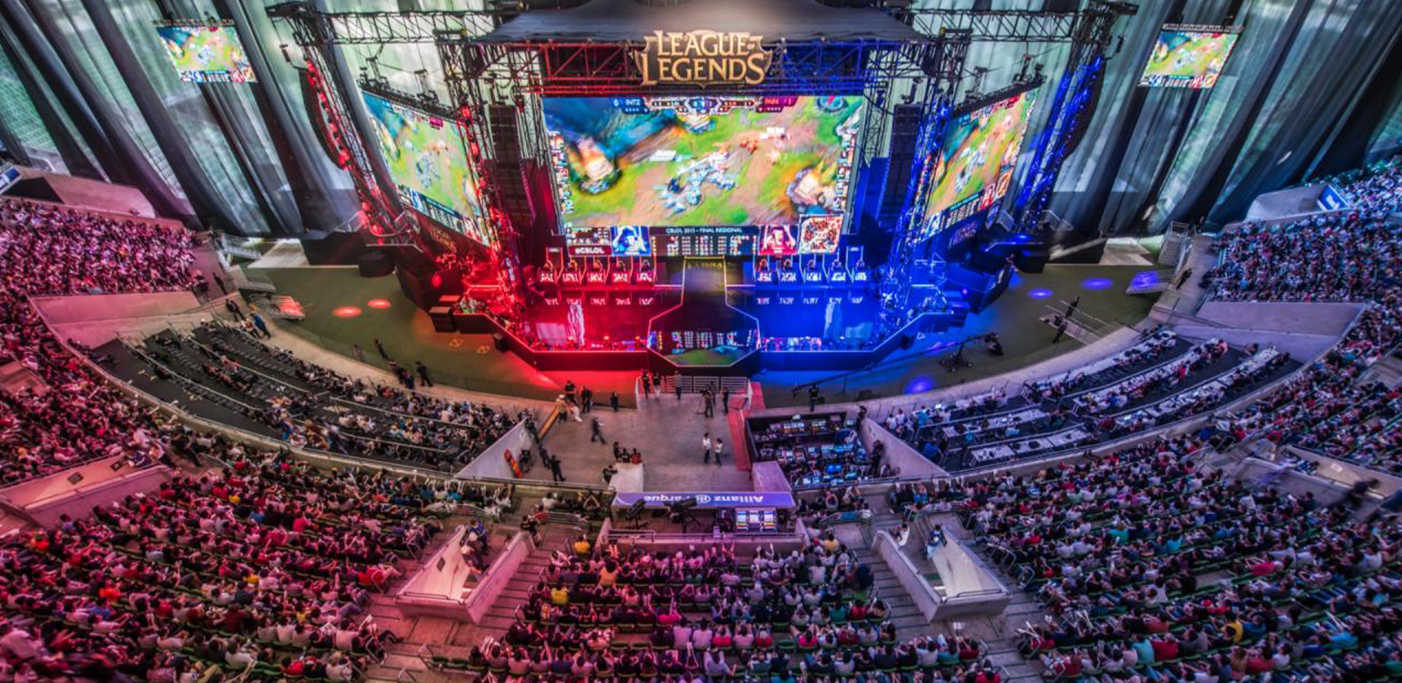 transmissao do league of legends pelo sportv