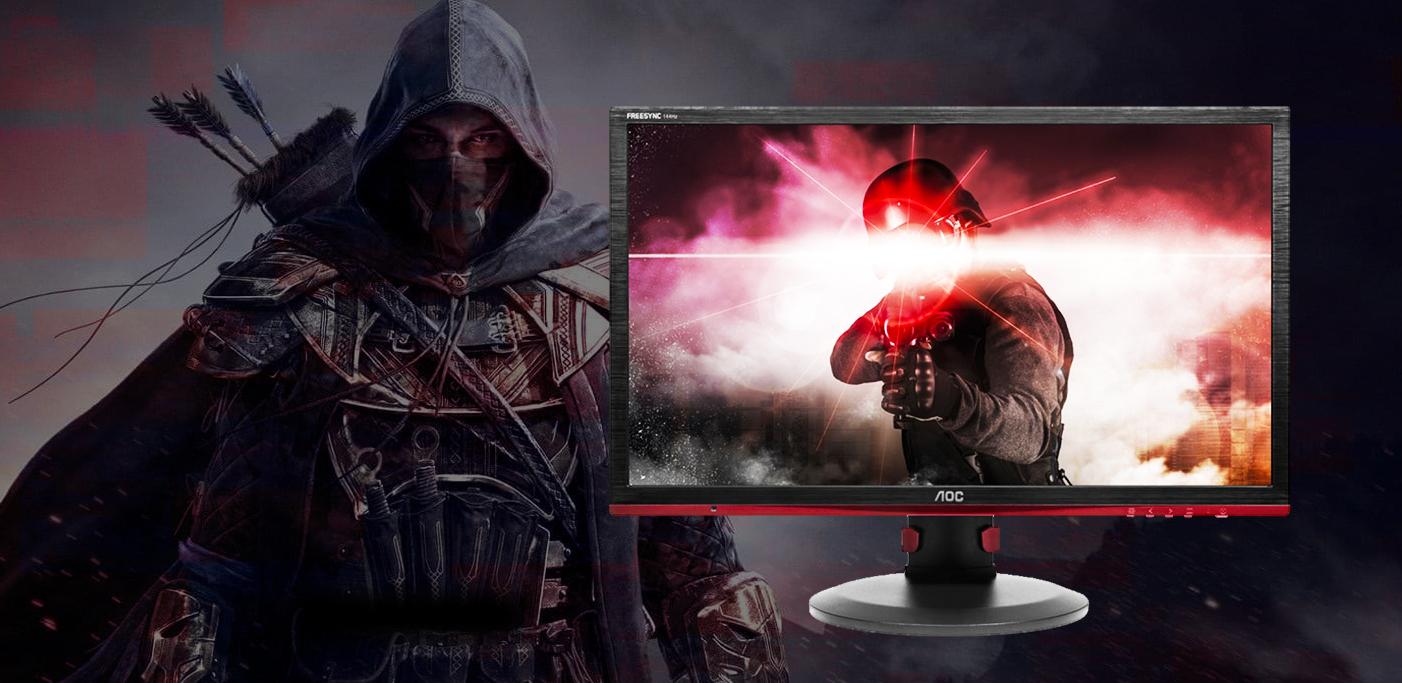 como escolher monitor gamer