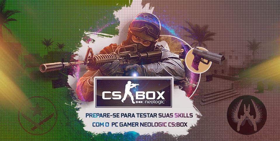 Neologic CS Box: o PC Gamer ideal para CS