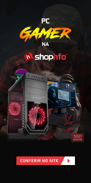 Banner para a loja virtual da Shopinfo.