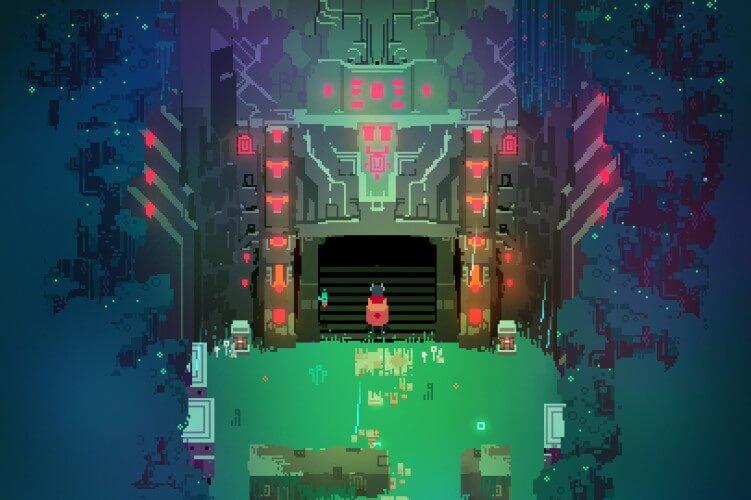 Screenshot do jogo Hyper Light Drifter.