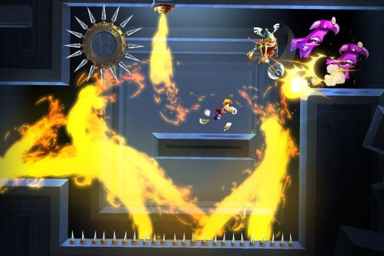 Screenshot do jogo Rayman Legends.