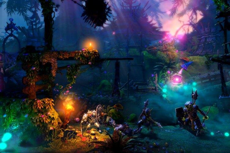 Screenshot do jogo Trine 2.