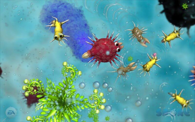 Screenshot do jogo Spore.
