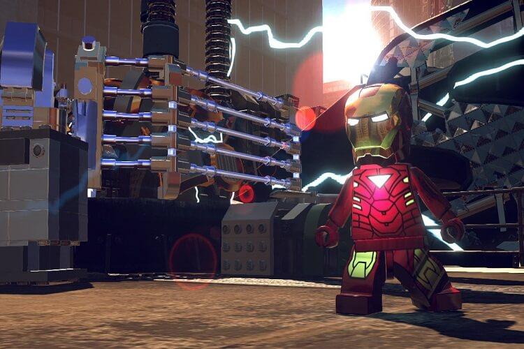 Game Lego Marvel Super Heroes
