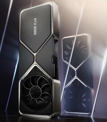 As placas de vídeo Nvídia foram anunciadas em três modelos. Imagem: Nvidia/Reprodução.
