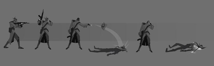 Concept art do personagem Cypher