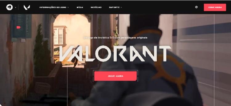 página de download de Volarant