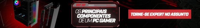 Banner para conferir os principais componentes de um PC Gamer